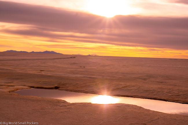 Bolivia, Uyuni Tour, Sunset