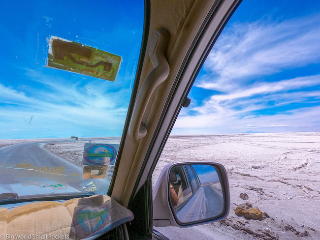Bolivia, Uyuni Tour, Window View