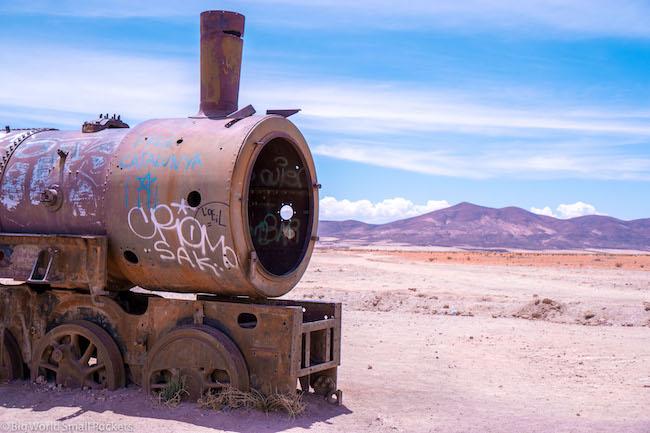 Bolivia, Uyuni, Train