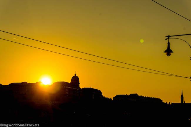 Hungary, Budapest, Sunset