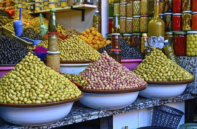 Kuwait, Souk, Olives