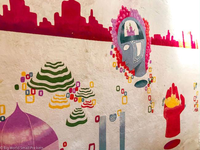 Peru, Cusco, Hostel Artwork