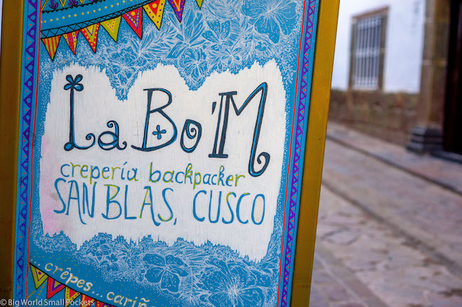 Peru, Cusco, La Bo'M Hostel