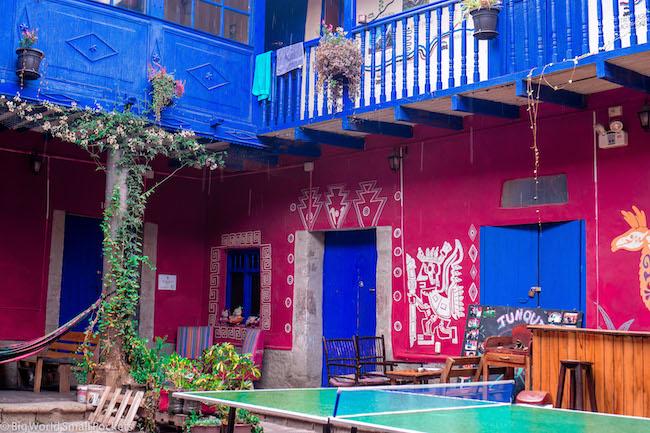 Peru, Cusco, Tunqui Hostel