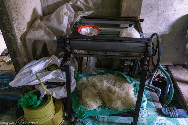 Vietnam, HMCM, Noodle Making