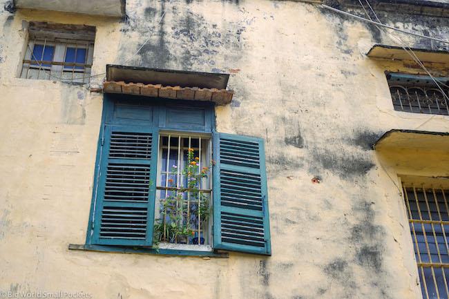 Vietnam, Hanoi, Window and Shutters