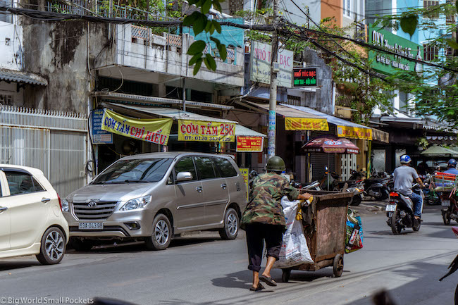 Vietnam, Ho Chi Minh, Street Man