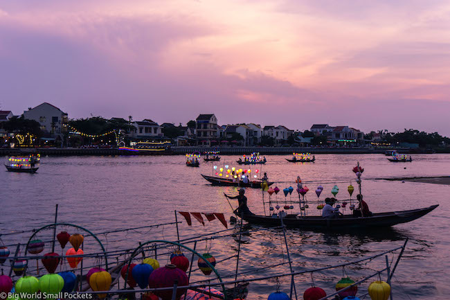 Vietnam, Hoi An, River Sunset