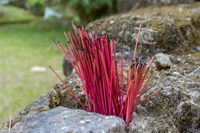 Vietnam, Incense, Burning
