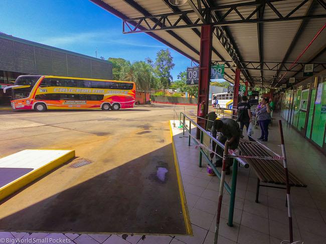 Argentina, Puerto Iguazu, Bus Station