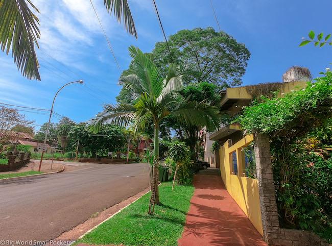 Argentina, Puerto Iguazu, Town