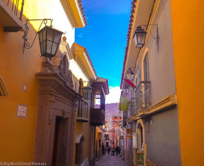 Bolivia, La Paz, Calle Jaen