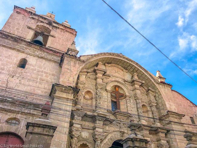 Bolivia, La Paz, Church