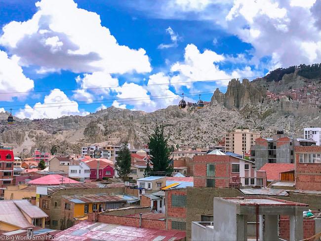 Bolivia, La Paz, Houses