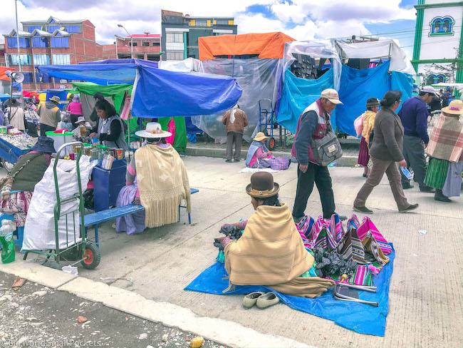 Bolivia, La Paz, Market