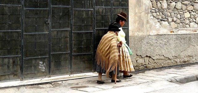 Bolivia, La Paz, Women