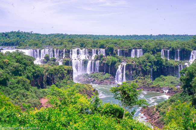 Brazil, Iguazu Falls National Park, View