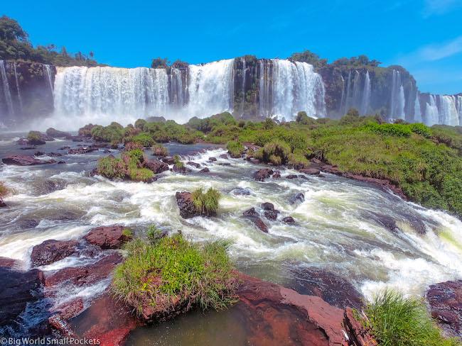 Brazil, Iguazu Falls, View