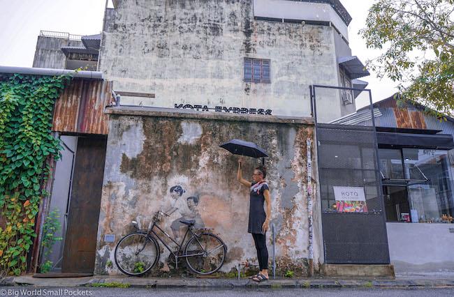 Malaysia, Georgetown, Me Street Art