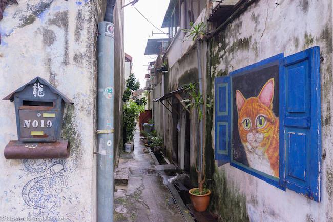 Malaysia, Penang, Alley