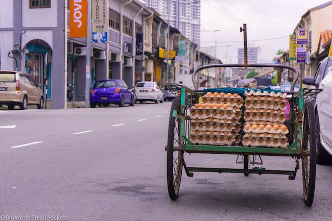 Malaysia, Penang, Eggs