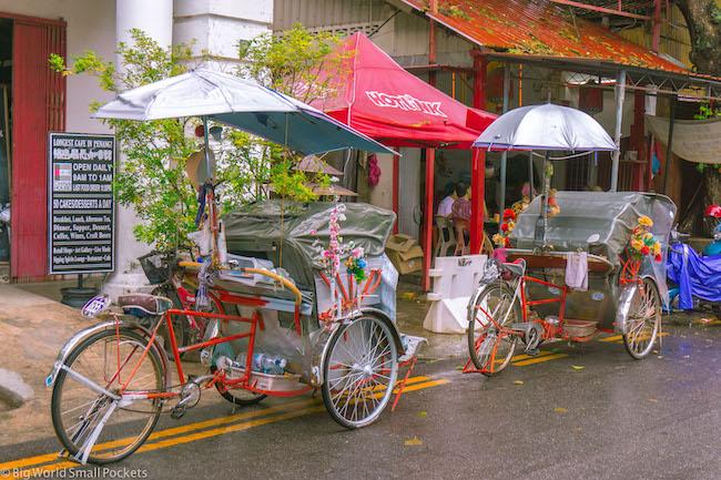 Malaysia, Penang, Trishaw