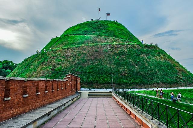 Poland, Krakow, Kościuszko Mound