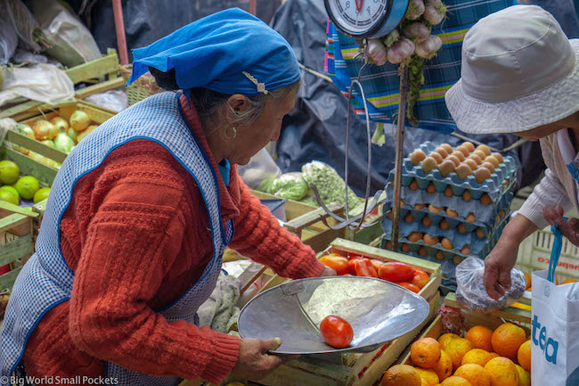 Argentina, Humahuaca, Market Lady