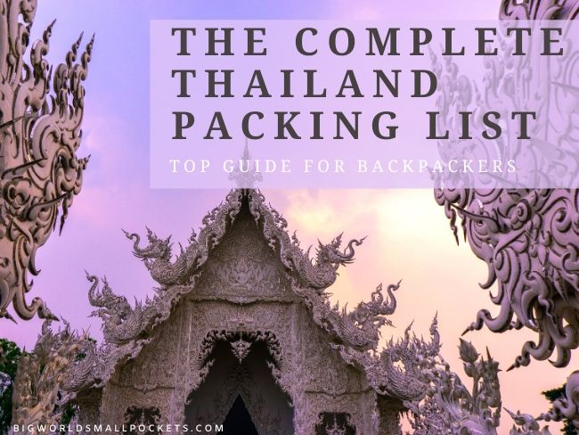 Complete Thailand Packing List