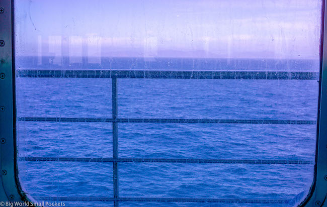 France to Spain Ferry Window