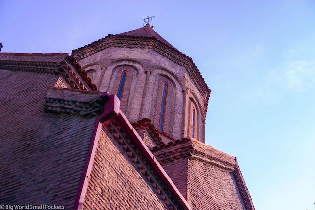 Georgia, Monastery, Roof