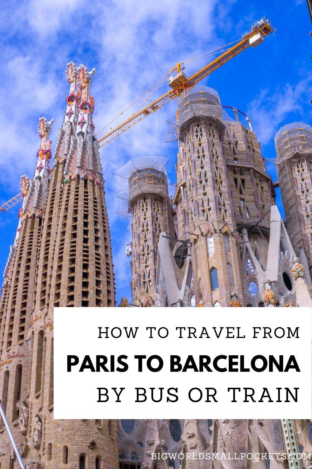 How to Travel from Paris to Barcelona