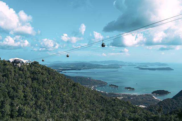 Malaysia, Langkawi, Cable Car