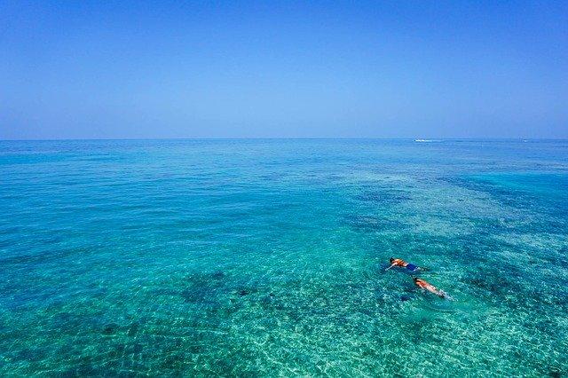 Malaysia, Snorkelling, Couple