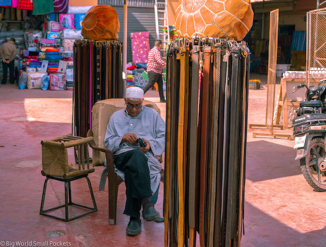 Morocco, Agadir, Belts