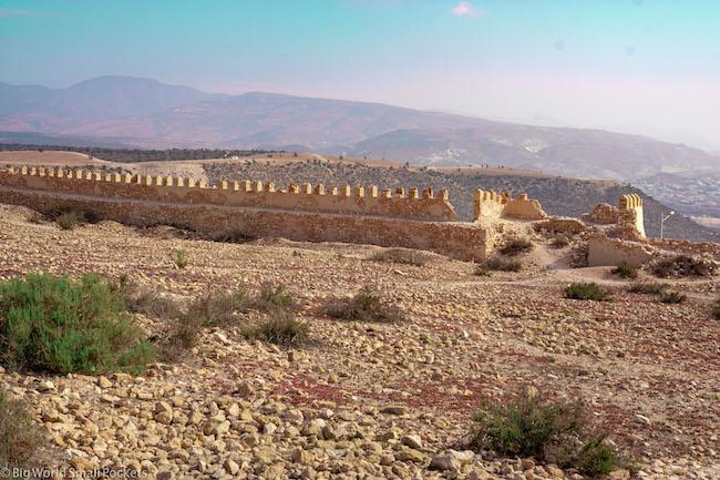 Morocco, Agadir, Ruins