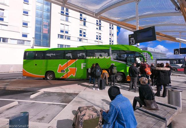 Paris to Barcelona, Flixbus, Station