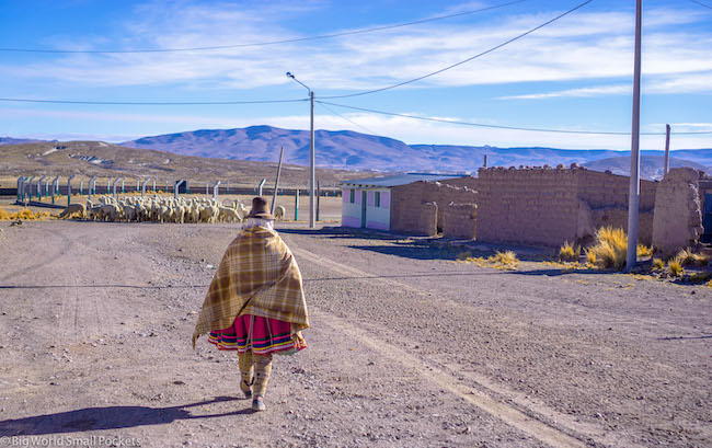 Peru, Travel Costs, Lady