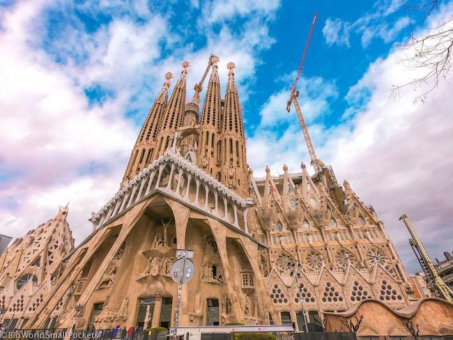 Spain, Barcelona, Gaudi