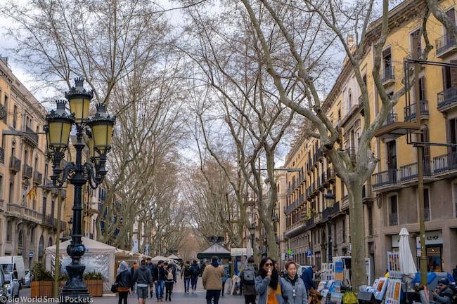 Spain, Barcelona, Las Ramblas