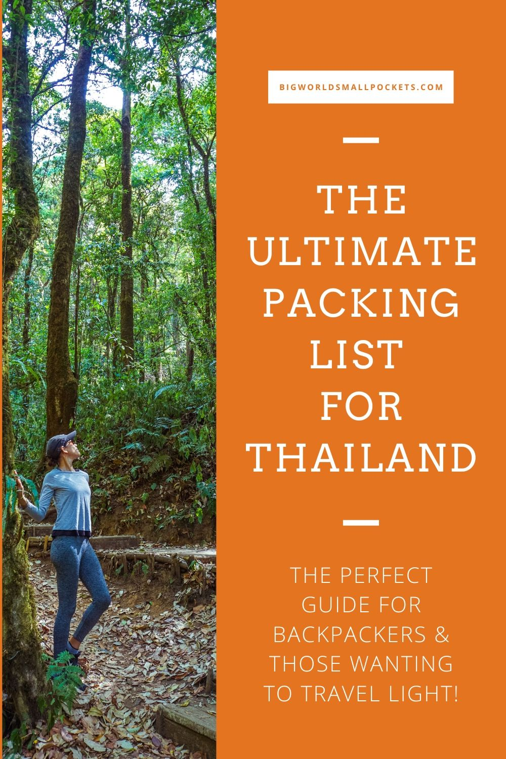 The Ultimate Thailand Packing List for Backpackers