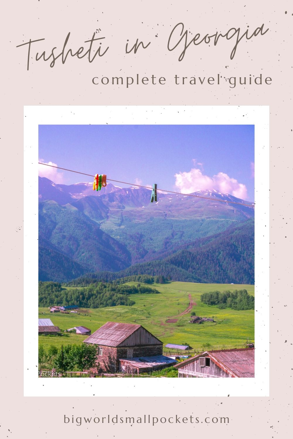 Travelling to Tusheti in Georgia - All You Need To Know