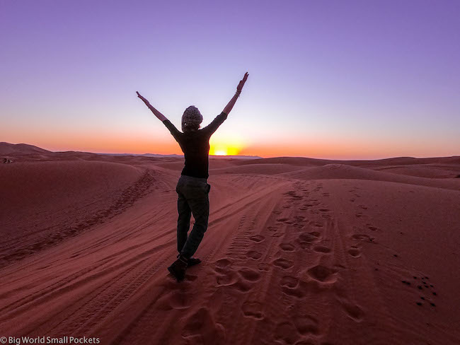 Africa, Morocco, Me at Sunrise