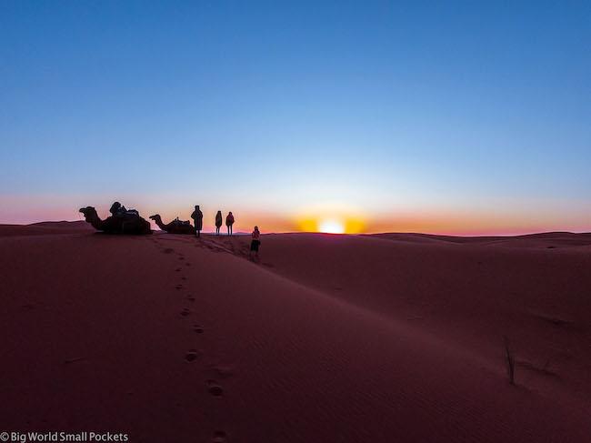 Africa, Morocco, Sunrise