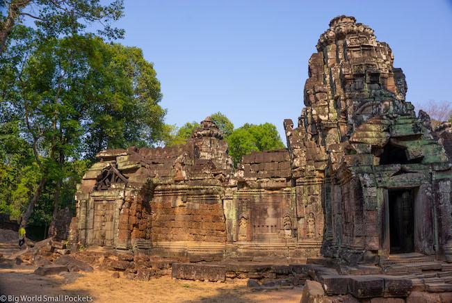 Cambodia, Angkor, Small Temple