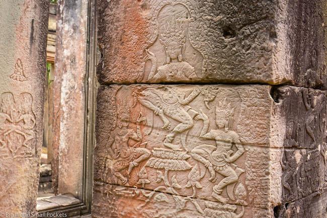 Cambodia, Angkor Wat, Engravings 3