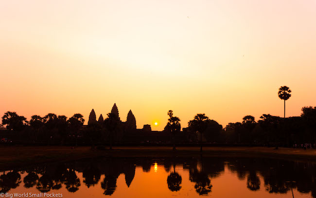 Cambodia, Angkor Wat Sunrise 12