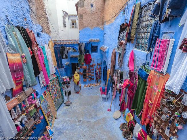 Morocco, Chefchaouen, Shop