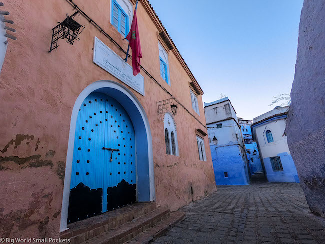 Morocco, Chefchaouen, Street