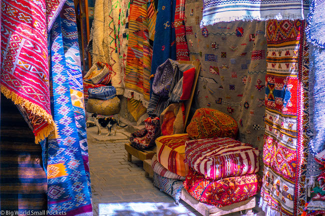 Morocco, Souk, Rugs